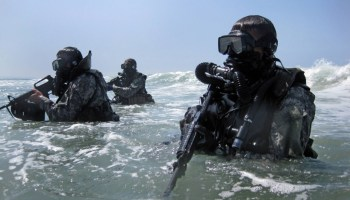 Mine eyes have seen the glory of the Combat Diver Qualification Course (CDQC)—Twice! (Part I)