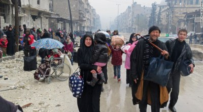 Fighting in Aleppo ends in Syrian victory amid allegations of civilian 'slaughter'