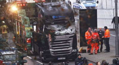 Tunisian refugee identified as suspect in deadly truck attack at a Christmas market in Berlin