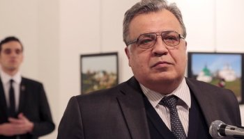Watch: Graphic video of the assassination of Russian Ambassador in Turkey