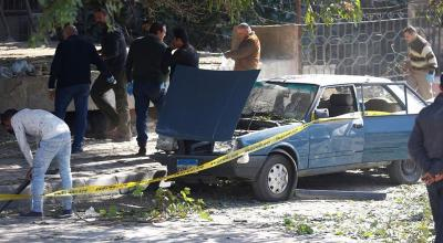 Bombing kills six police officers in Cairo