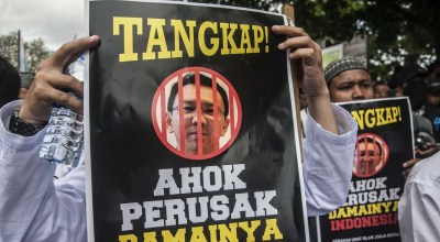 Trial begins in Indonesia for Christian governor accused of Koran blasphemy
