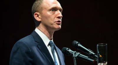 Carter Page, ex-Trump adviser with Russian ties, visits Moscow