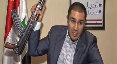 Aleppo member of parliament Fares Shehabi goes ballistic