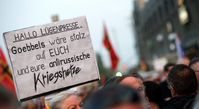 In Germany, the language of Nazism is no longer buried in the past