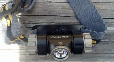 Fenix HL23 | A Lightweight Rugged Headlamp