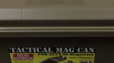 MTM Tactical Mag Can: A protected method of storage for loaded magazines