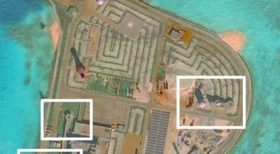 South China Sea: Satellite photos show weapons on Chinese islands