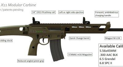 SKELI X-11 Modular Carbine: First Look