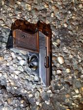 Gun used by Amri. Image courtesy of ILTEMPO.IT