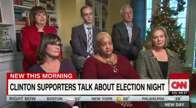 Clinton supporters blame Russia, racism, and the media… but never their candidate