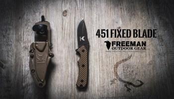 Freeman Outdoor Gear Fixed Blade 451