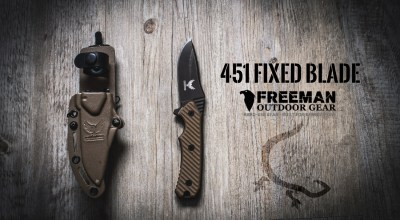 Freeman Outdoor Gear Fixed Blade 451