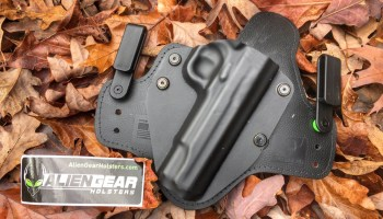 Product review: Alien Gear IWB pistol holster