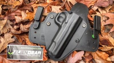 Product review: Alien Gear IWB pistol holster