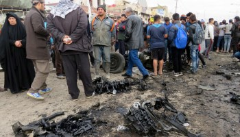 Scores killed in Baghdad as militants strike with multiple car bombs