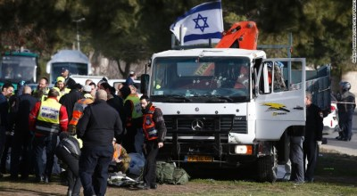 Watch: Security camera shows the truck attack that killed four Israeli soldiers
