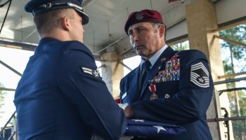 News Roundup: Decorated USAF pararescue chief retires, Army chooses Sig Sauer, ladies getting scammed by stolen valor
