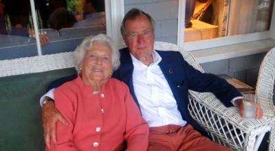 Former President George H.W. Bush and wife Barbara both hospitalized
