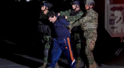 Mexico extradites drug lord 'El Chapo' to U.S. on eve of Trump inauguration