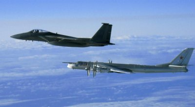 Japan scrambles jets to intercept Russian bombers!