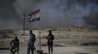 Iraq says it has split ISIS' last stronghold in the country in half