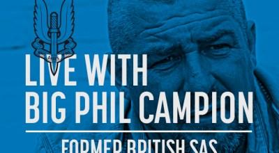 Watch: Live with Big Phil Campion, former British SAS- Jan 31, 2017