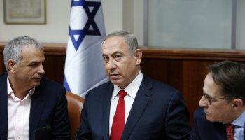 Trump, Netanyahu discuss Iran and Israeli-Palestinian peace process
