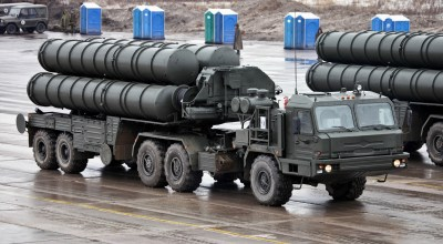 Watch: Russia Deploys S-400 Anti-Aircraft Missile System Around Moscow
