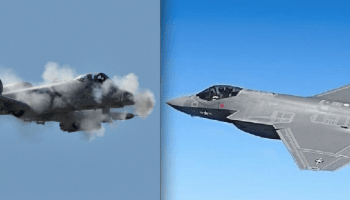A-10 versus the F-35! Which aircraft will win the shootout?