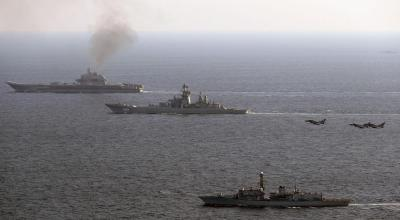 Russia and the UK exchange insults as the British Navy tails Russian ships through the English Channel
