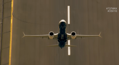 Watch: Boeing's 737 MAX Demonstrate Amazing Power and Maneuverability!
