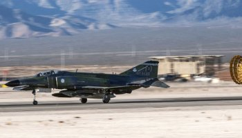 Watch: Last F-4 Phantom Flight: The Air Force says goodbye