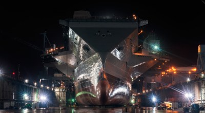 Navy Aircraft Carrier Gerald R. Ford May Be Ready in April