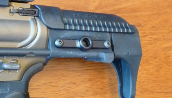 Falcon 37 Habu Charging Handle: More than the sum of its parts