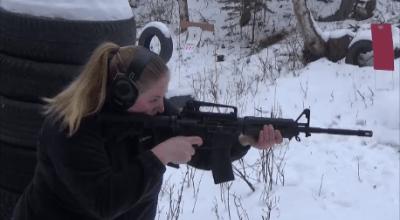 Teaching women to shoot with drills