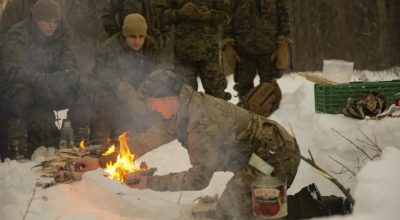 SERE Survival: Starting a Fire in a Survival Situation