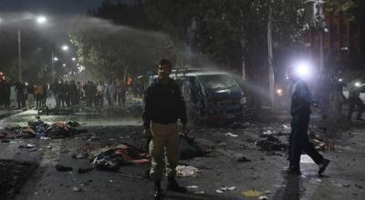 Deadly bombing in Pakistan kills 14 and injures at least 60