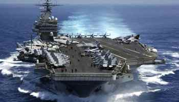 US carrier and missile destroyer enter South China Sea
