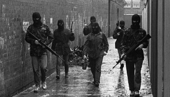A new war is being waged against English troops in Northern Ireland