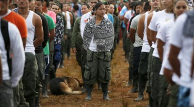 The last march: Colombia's most notorious rebel group is starting to disarm, but obstacles to peace still loom
