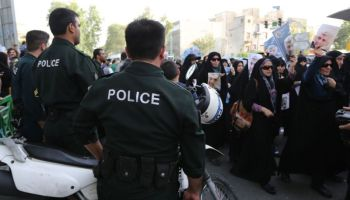 Iran says holds eight foreigners planning attacks