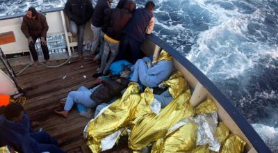 More than 1,300 migrants rescued at sea in one day: Italy coast guard