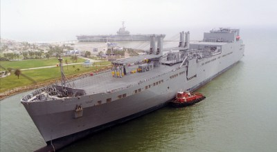 The American military's secret weapons that are too big to hide: Cargo ships