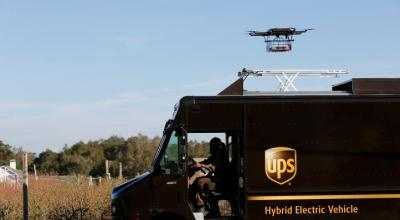 Watch: UPS Demonstrates Drone Package Delivery – Oops