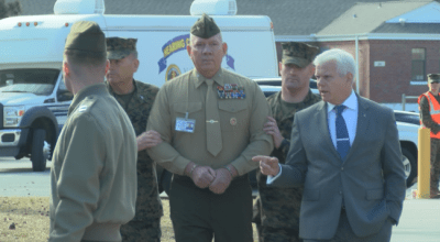 Marine colonel charged with sex assault sent to brig amid new allegations