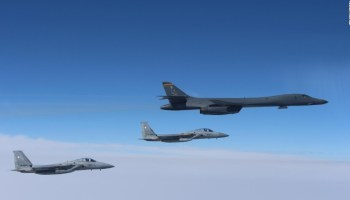 China issues warning to American B1-1 Bomber in contested airspace
