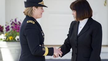 Second lady Pence honors female service members for Women's History Month
