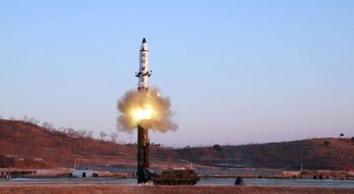 North Korean missile fails immediately after launch
