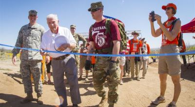 Bataan Death March survivor honors brothers-in-arms